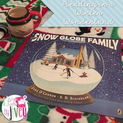 So many fabulous ideas for the book, The Snow Globe Family. Figurative language, plot, writing options, and a craftivity.