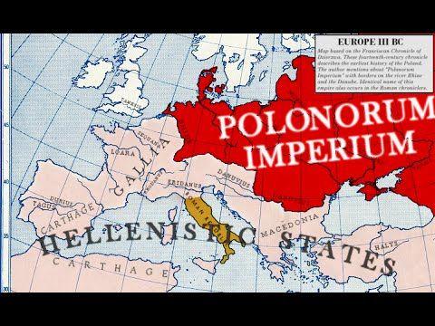 86-9.a 4/5 Kroniki niemieckie,rzymskie i arabskie o Imperium Lechitów i ...