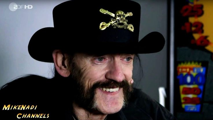 Motörhead Tour 2015 / 2016 - Interview mit Lemmy / Paris (ZDF aspekte 20...