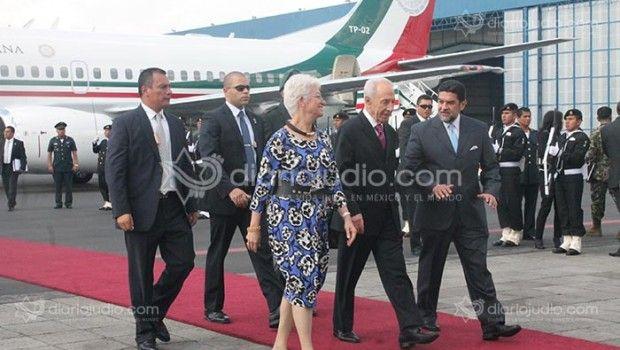 Bienvenido Shimon Peres, Presidente de Israel, a México - Israel, Nacionales, Nota Destacada de Hoy, Noticias, Ticker - Diario Judío México