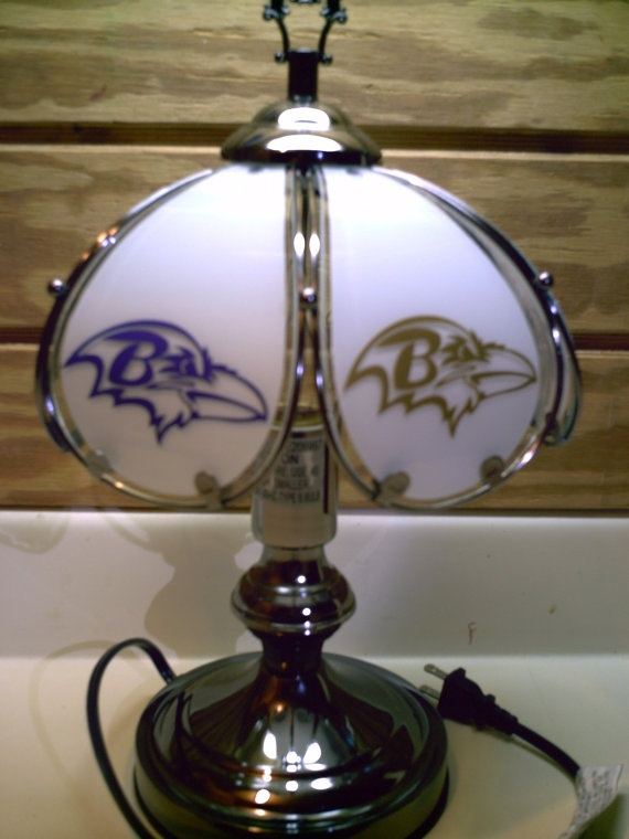 Baltimore Ravens Touch Lamp Baltimore Ravens