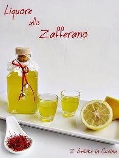 Liquore allo Zafferano | 2 Amiche in Cucina