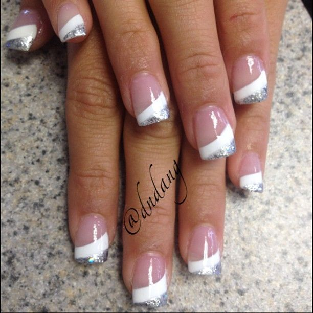 Instagram photo by dndang #nail #nails #nailart I like this but instead of - Best 25+ French Nail Art Ideas On Pinterest Wedding Nail, Bridal