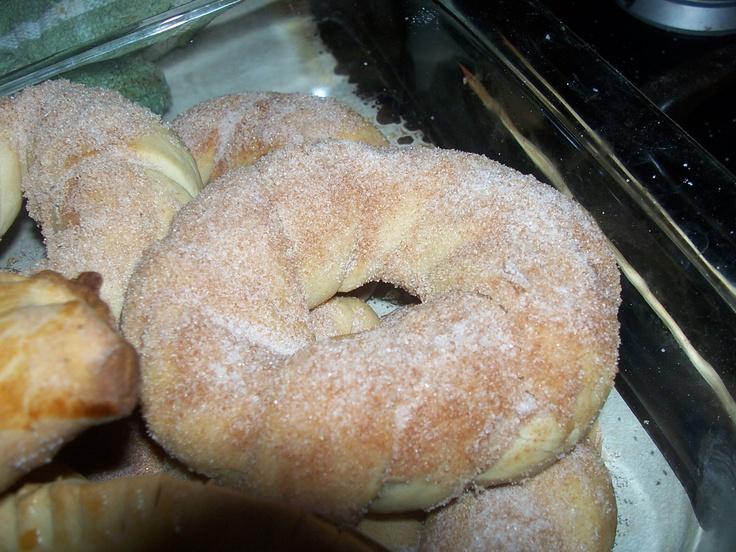 Pan dulce mexicano Rosquitas de canela...deliciosas