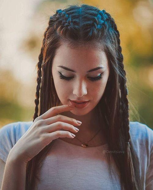 Moderne 2018 Hair styling Ideen für Mädchen