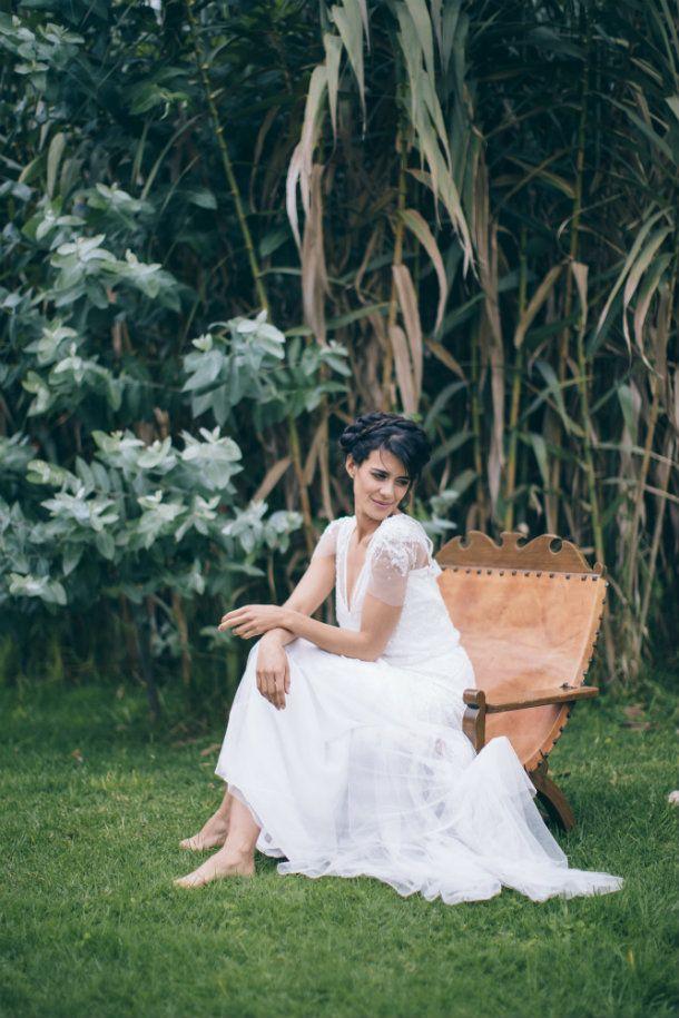 Editorial de novias. Bridal Editorial -- Fotografías: Happic Photo Group -- Vestido de Novia: Rosa Clará