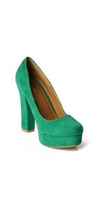 Audrey Platform - Sea Green #high heel boots# sexy shoes# platform heels# heels platform# heels with platform# silver heels# kitten heels# pink heels# summer shoes# high pumps# cheap shoes online# hot shoes #red pumps# nude shoes# cheap heels#