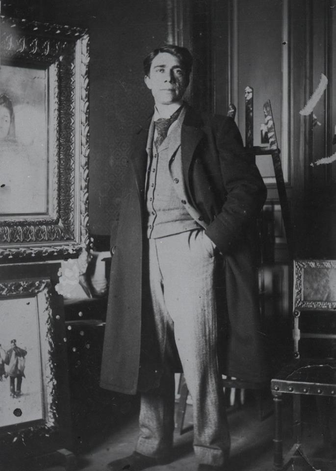 UNUL DIN MARII NOȘTRI ARTIȘTI, PICTORUL ȘTEFAN LUCHIAN, ÎN ANUL 1900, ÎN PLINĂ PERIOADĂ BELLE ÉPOQUE