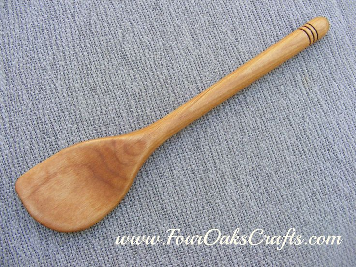 Learn how to make a beautiful wooden spatula. I show you how I used my simple mini lathe to create this great addition to my wife's kitchen.