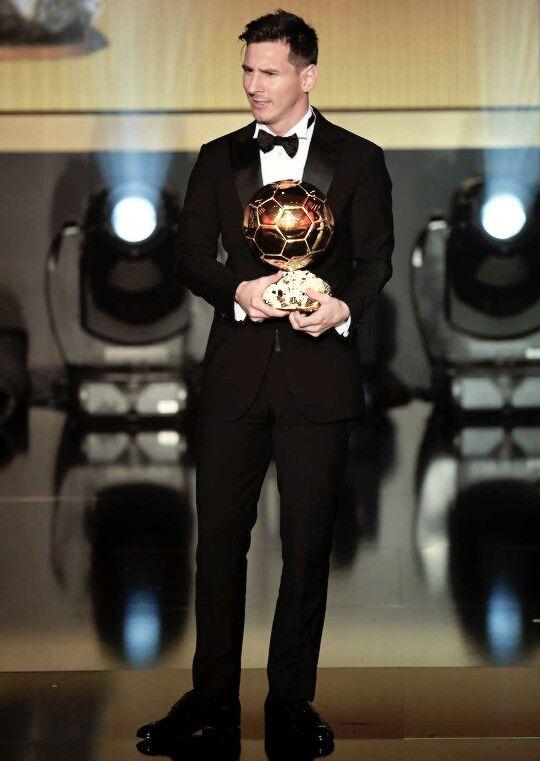 Messi, Balón de Oro 2015.