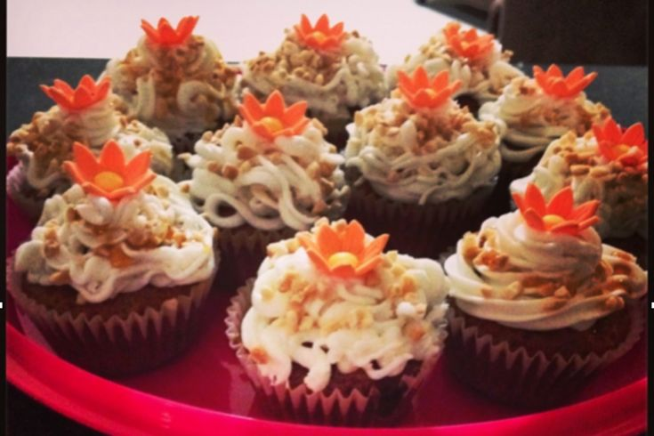 <p>Fluffy and fun, these carrot cake cupcakes will be a fan favorite with every crowd!</p>