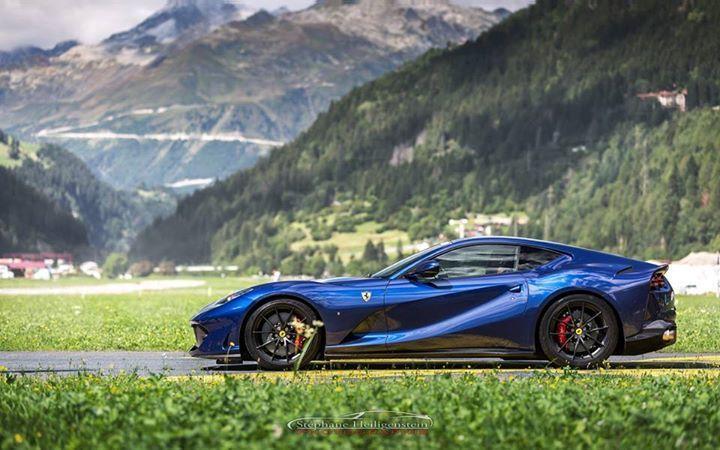 A Blue Tdf Ferrari 812 Superfast Ferrari 812 Superfast A Blue Tdf Ferrari 812 Superfast Adsbygoogle Window A Super Cars Ferrari Car Ferrari