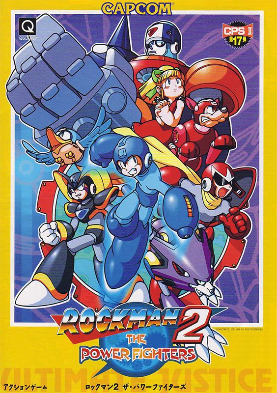Mega Man 2 : The Power Fighters game on game oldies