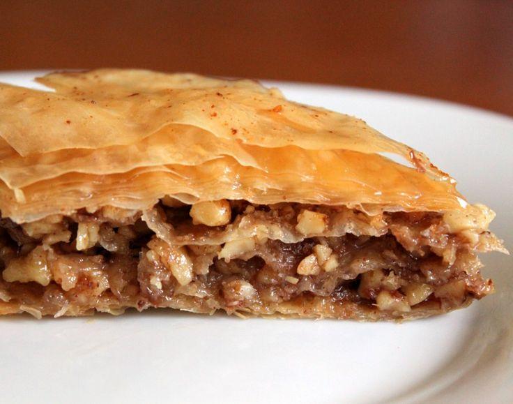 Bakalava - a classic Greek dessert
