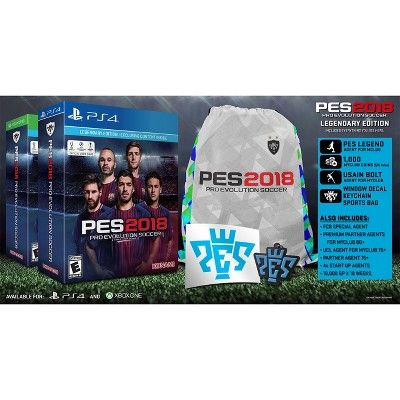 Pro Evolution Soccer 2018 Legendary Edition - PlayStation 4