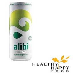 Alibi's the ultimate health drink. A lightly sparkling, fruit juice blend packed with 19 essential vitamins, minerals and natural herbal extracts. Alibi repleni