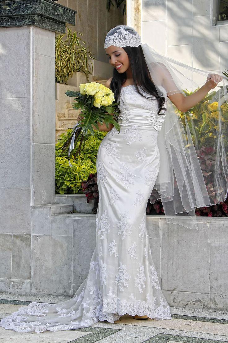 Vestido de novia Faja