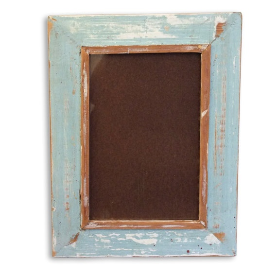 Rustic Distressed Picture Frame with a shabby chic, vintage country home feel 'wood' 20x30