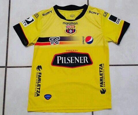 MARATHON Barcelona Sporting Club Ecuador Soccer Jersey #jerseys#bsc#barcelonasc#barcelonasportingclub#soccer#football#futbol#ebay#ebayseller