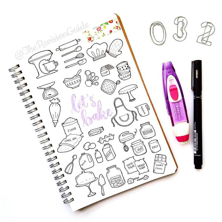 Day 32 of  #THE100DAYPROJECT - 100 days of doodle icons by Apsi ©TheRevisionGuide Doodles and lettering from instagram.com/therevisionguide