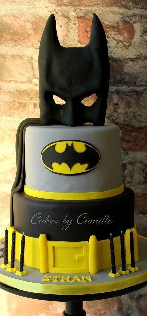 Batman Birthday Cake   https://lomejordelaweb.es/