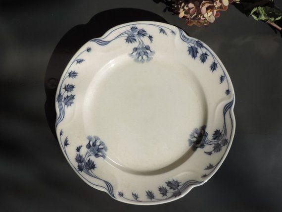 Vintage Villeroy Boch Plates Set Of 8 Vintage Dinner Plates By