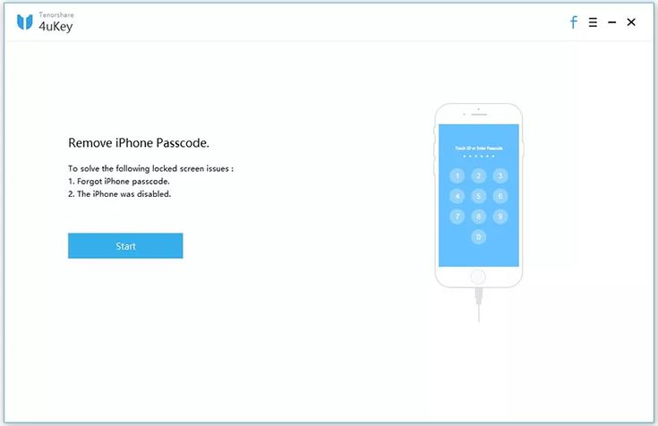 How to remove iphone passcode with tenorshare 4ukey
