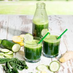 This Cucumber Coconut Water Smoothie Just Might Be the Most Refreshing Drink Ever