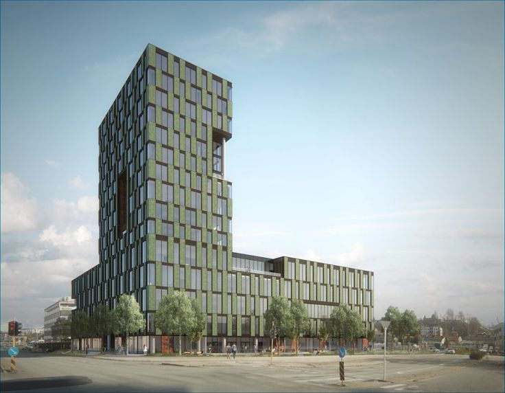 Trondheimsporten (2015) – ARC arkitekter