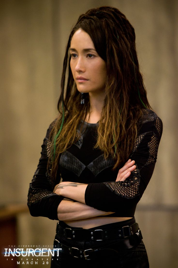 In order to change, you must take action. Maggie Q as Tori in The Divergent Series: | Insurgent.