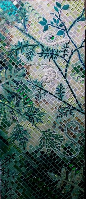 It's Not Easy Bein' Green / Mosaic (by Lee Ann Petropoulos)