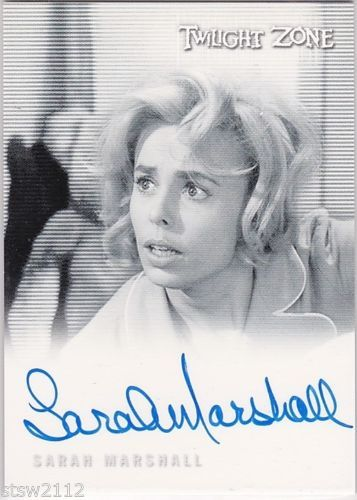 TWILIGHT-ZONE-THE-COMPLETE-50TH-A113-SARAH-MARSHALL-RUTH-MILLER-AUTOGRAPH