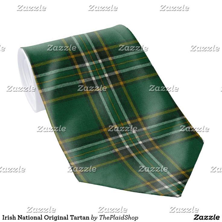Irish National Original Tartan Tie SOLD!  Going to Brazil, thank you customer!
