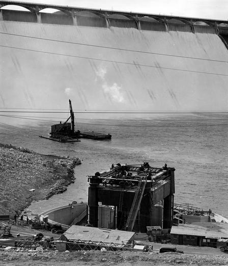 Grand Coulee Dam Repairwork.