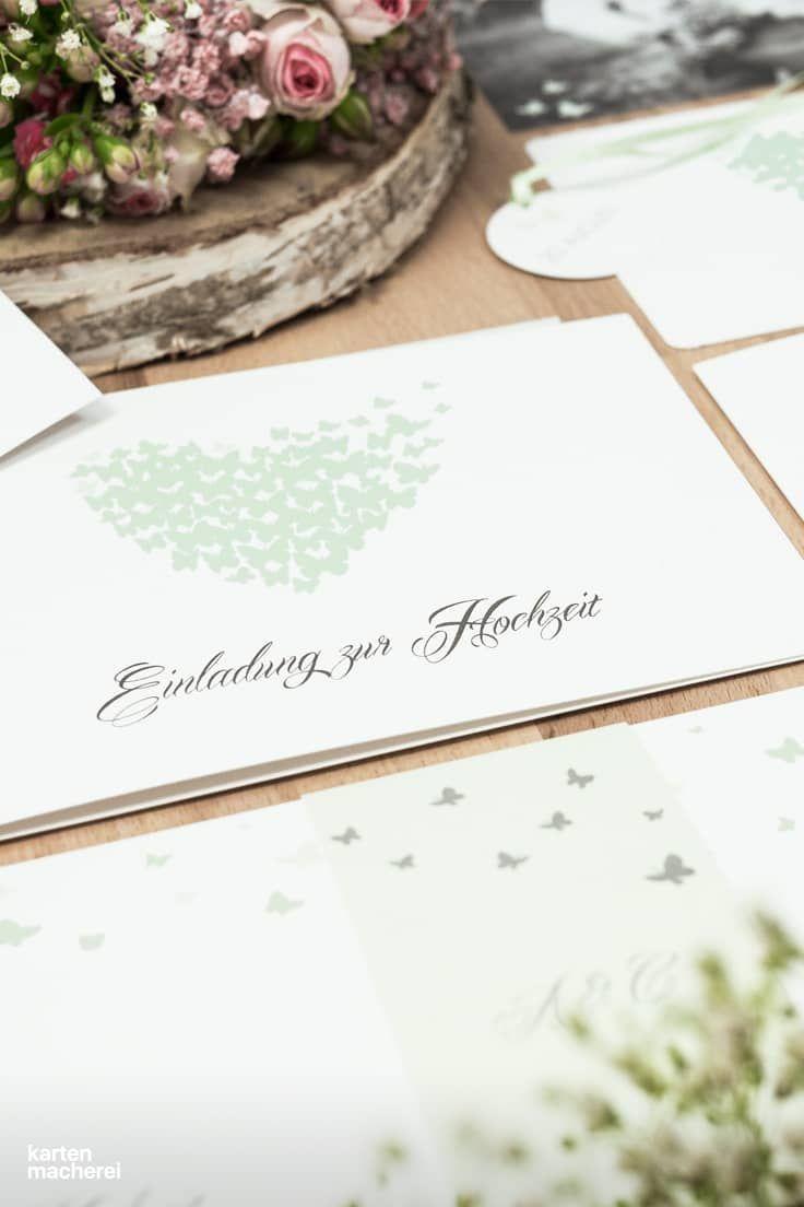 8 best Einladungen Hochzeit images on Pinterest
