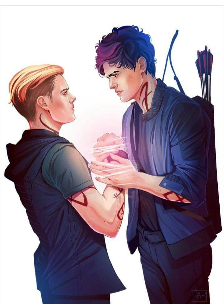 jace and alec <3