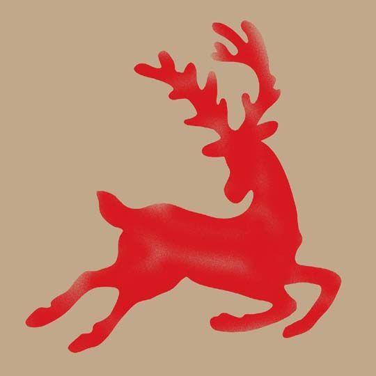 11 Best Christmas Stencils Images On Pinterest