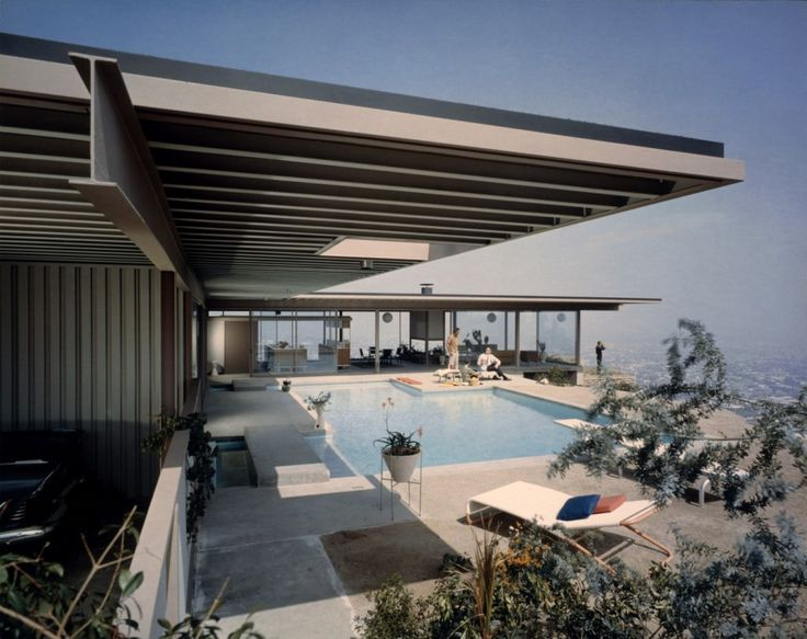 Julius Shulman Case Study House #22, 1960 (Architect: Pierre Koenig)