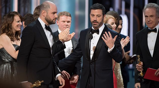 PWC to blame for Oscars blunder.