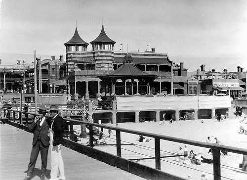Esplanade at Henley Beach by State Library of South Australia, via Flickr