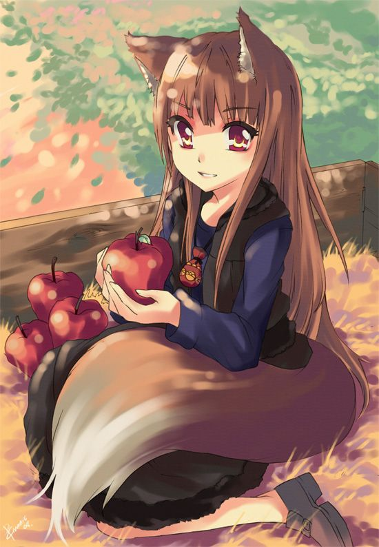 ((Really Bored Open Rp)) *You go to your wagon and see a Wolf girl laying down curled up in her tail*