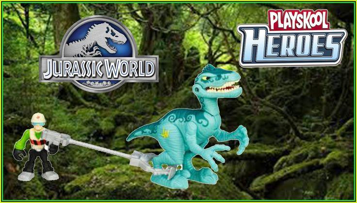 Jurassic World Playskool Heroes Capture the Dino! Capture le Dino! !Capt...