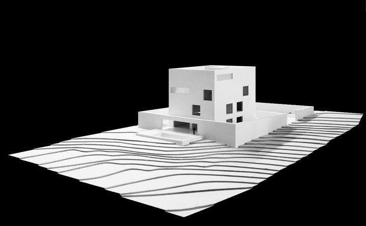 Raumplan House, Alberto Campo Baeza © Alberto Campo Baeza