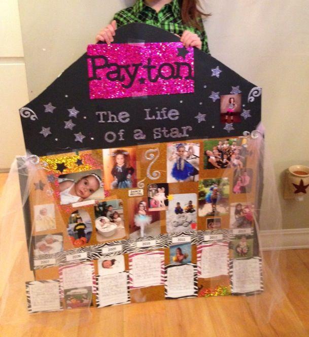 1st grade timeline project | Timeline Ideas | Pinterest ...