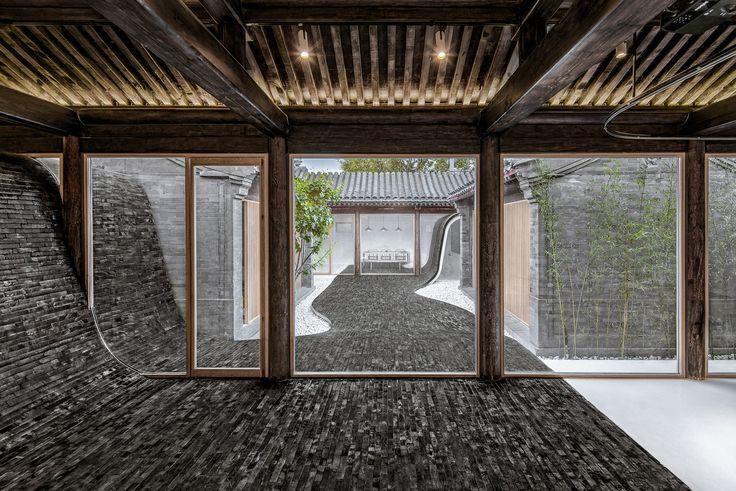 Gallery of Twisting Courtyard / ARCHSTUDIO - 11