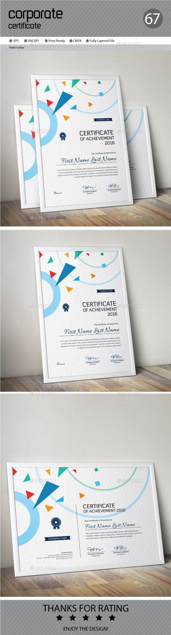 #Certificate - Certificates Stationery Download here: https://graphicriver.net/item/certificate/15380219?ref=alena994