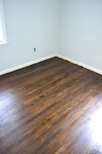 Dark Walnut Refinishing Floors Water Popping Tips This Is On Red Oak And It S Pretty Much The Perfect Color I Hope Monocoat Looks Similar