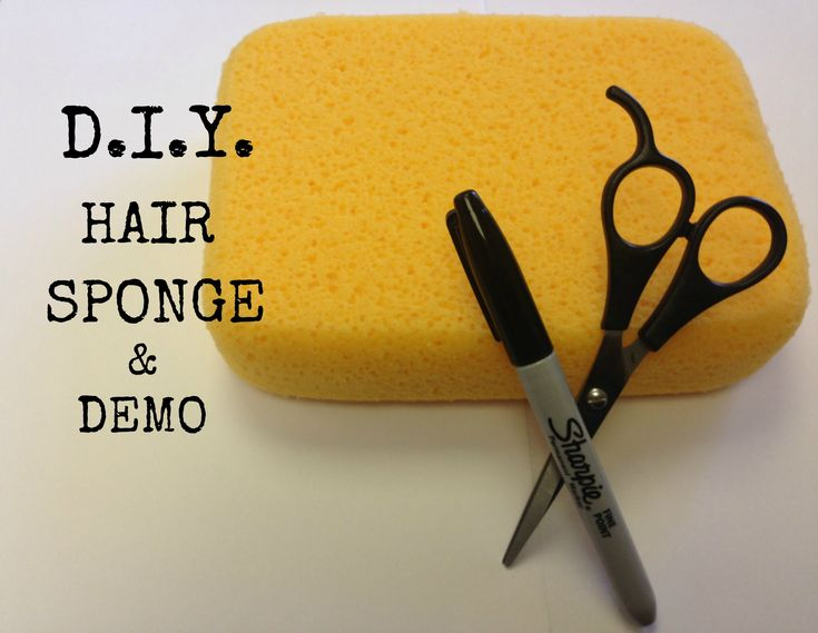 D.I.Y. Hair Sponge and Demo on Natural Hair