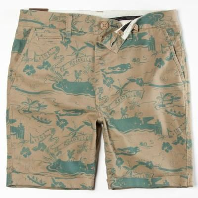 $39, Tan Camouflage Shorts: Insight Kaos For Fun Shorts Tan In Sizes 36 31 28 34 32 38 30 33 For 211526412. Sold by Tilly's. Click for more info: http://lookastic.com/men/shop_items/59576/redirect