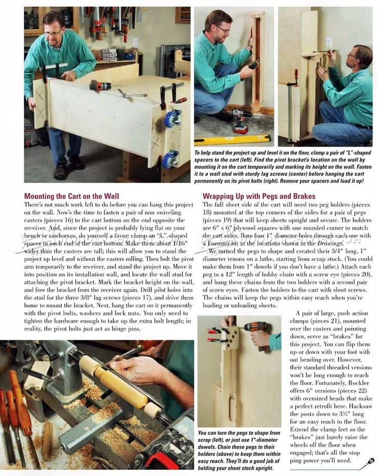 #9 Swing-Out Sheet Storage Plans - Workshop Solutions